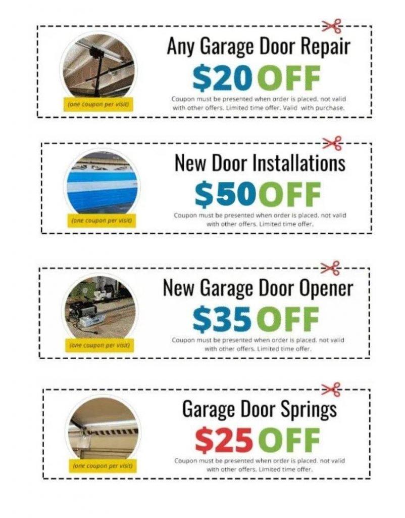 door repair coupon
